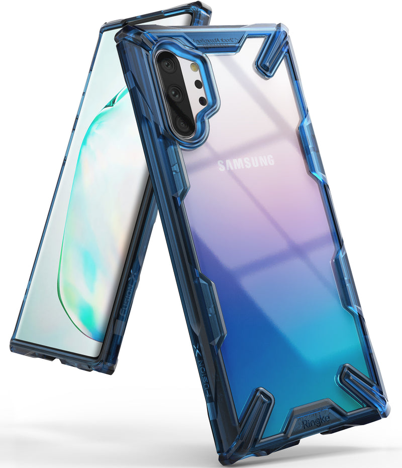 Ringke Fusion-X for Galaxy Note 10 Plus 5G (2019) Space Blue