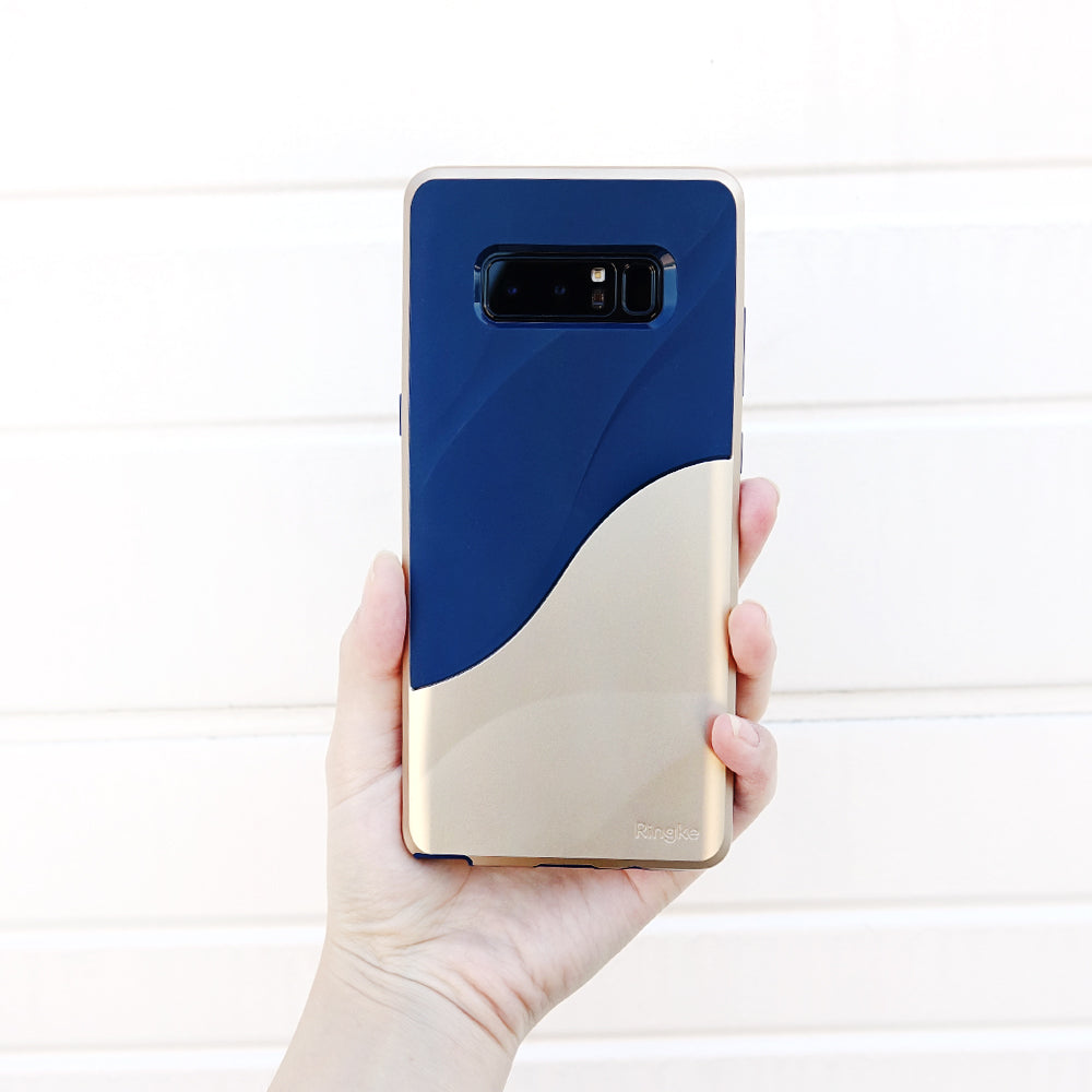 ringke wave case for samsung galaxy note 8 marina gold