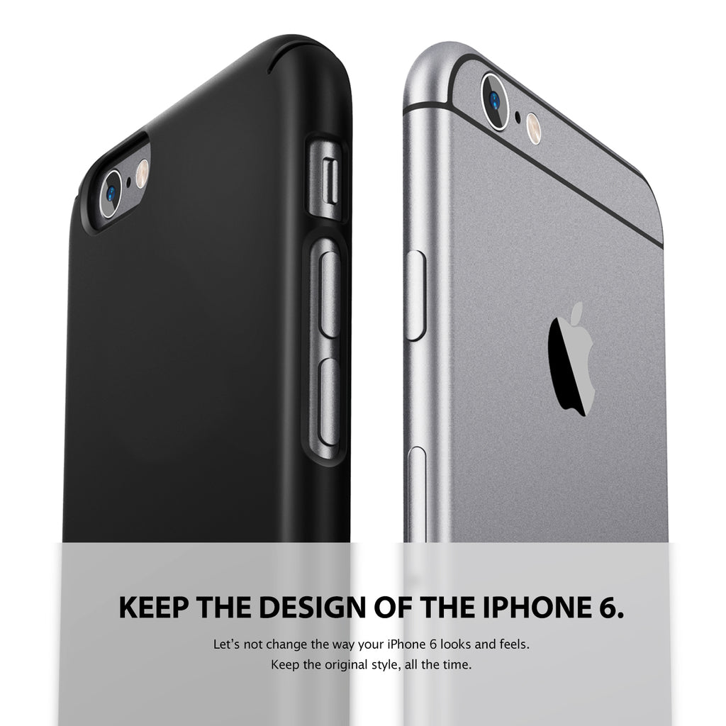 ringke slim lightweight hard pc thin case cover for iphone 6 main weightless