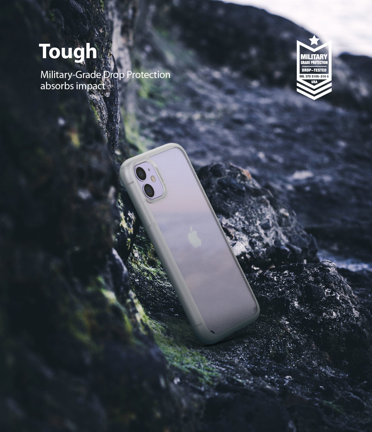 Ringke Fusion Matte for iPhone 11 Anti-Fingerprint Frosted PC Case Protection Tough