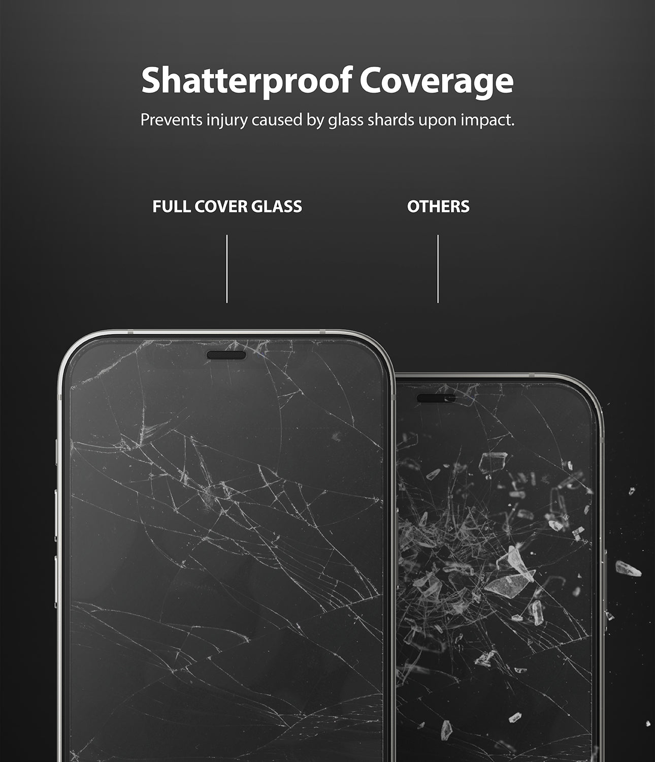 iPhone 12 / 12 Pro Screen Protector | Invisible Defender Glass