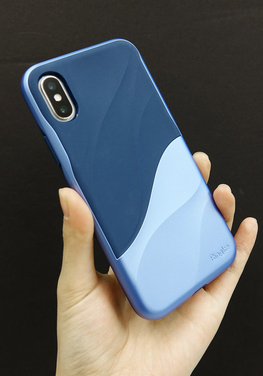 ringke wave for iphone x case cover main coastal blue real