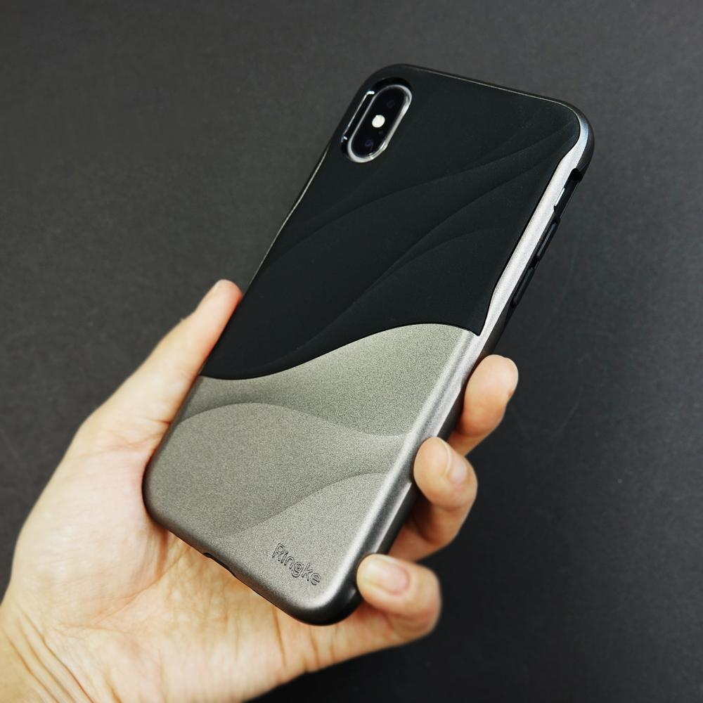 ringke wave for iphone x case cover main metallic chrome real