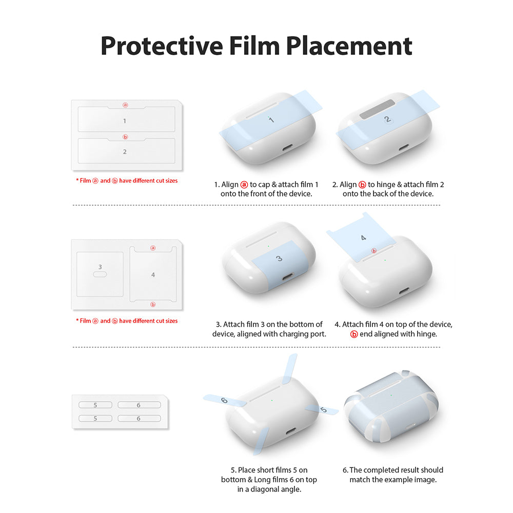 inner protective film installation guide
