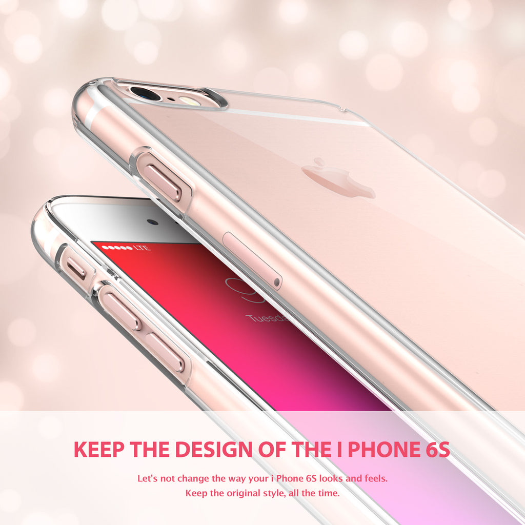 ringke slim lightweight hard pc thin case cover for iphone 6s main royal gold