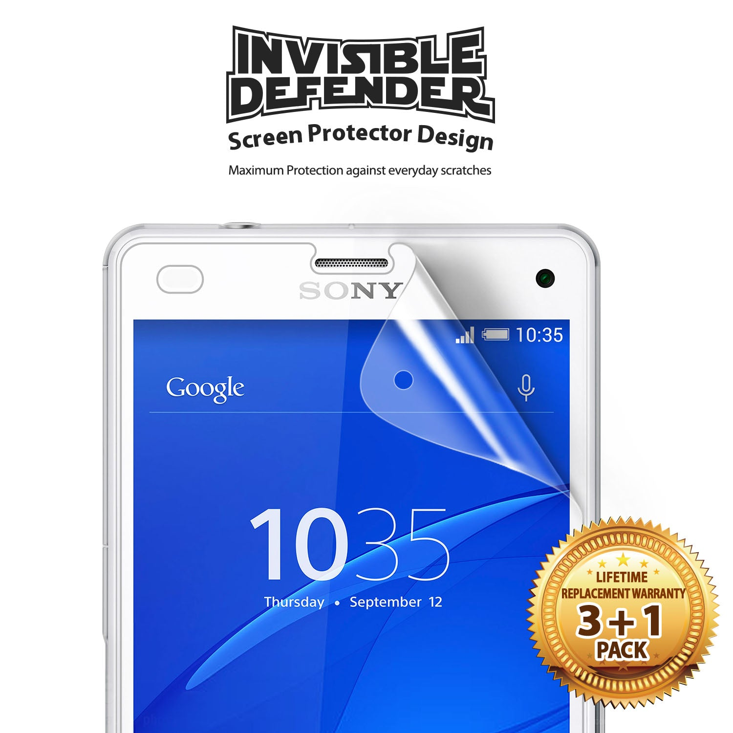 ringke invisible defender made for sony xperia z3 compact