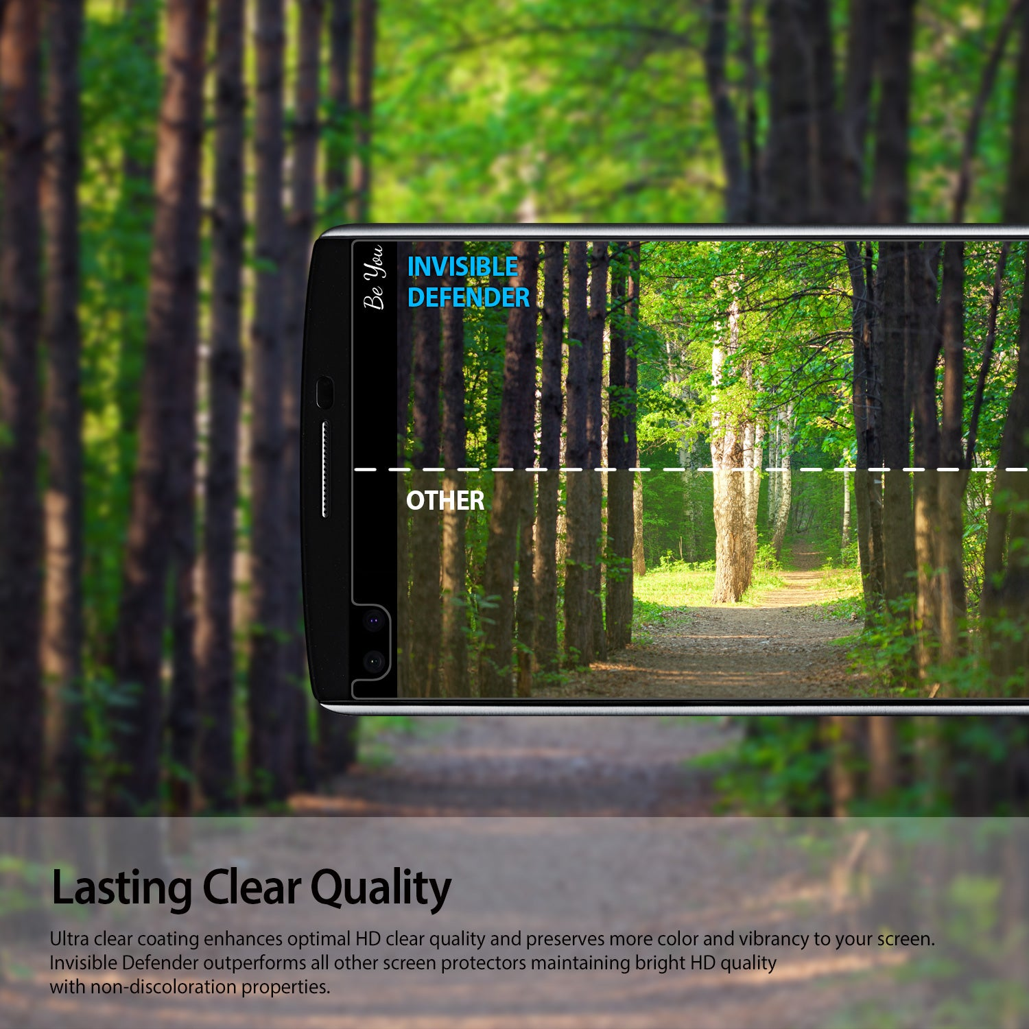 lasting clear quality