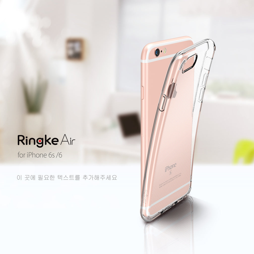 ringke air lightweight thin slim case cover for iphone 6 6s main colors