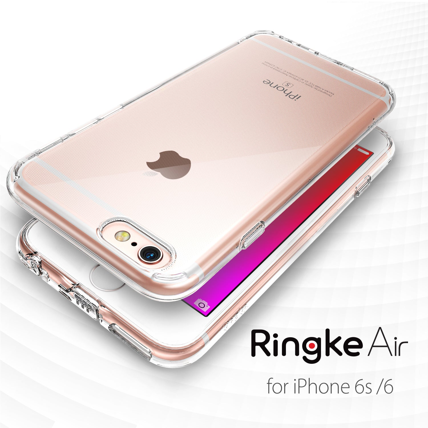 iPhone 6S / 6 Case, Ringke® [AIR] Extreme Lightweight & Thin Transparent Soft Flexible TPU Case