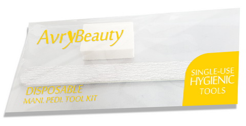 AVRY BEAUTY : MINI ZEBRA FILE & BUFFER SET - NailSuperCenter.com