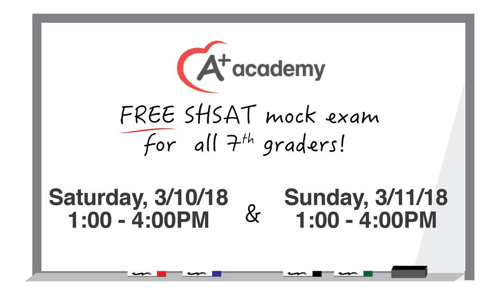 2018 Free SHSAT Mock Exams Dates Announced!