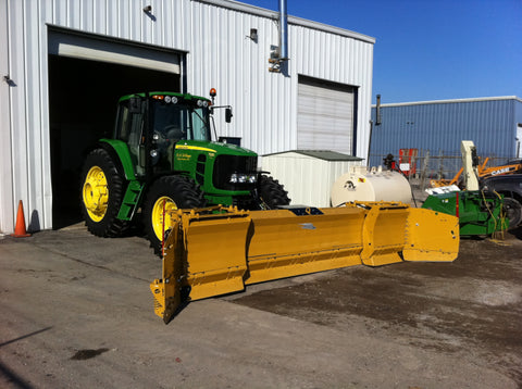 Metal Pless Extend Maxx Snow Plow for Tractors