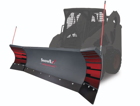 SnowEx 8600 SPEEDWING Skid Steer Snow Plow