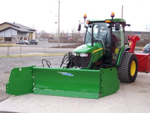 Metal Pless Agri MAXX Snow Plow
