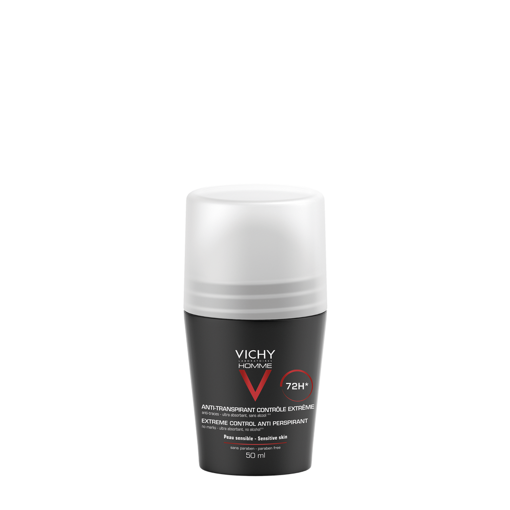 Vichy Homme Deodorant Roll-on 72h Intensiv