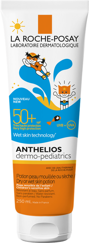 La Roche Posay Anthelios Dermo Kids Wetskin Gel 50+ 250ml