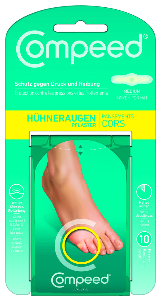Compeed Hühneraugenpflaster Medium 8Stk