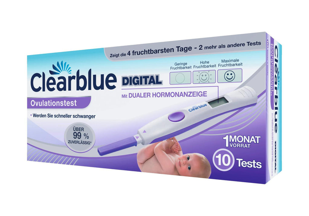 Clearblue Ovulationstest Digital 10 Stk.