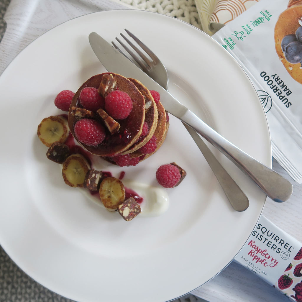 Recipe: Raspberry Ripple Pancakes