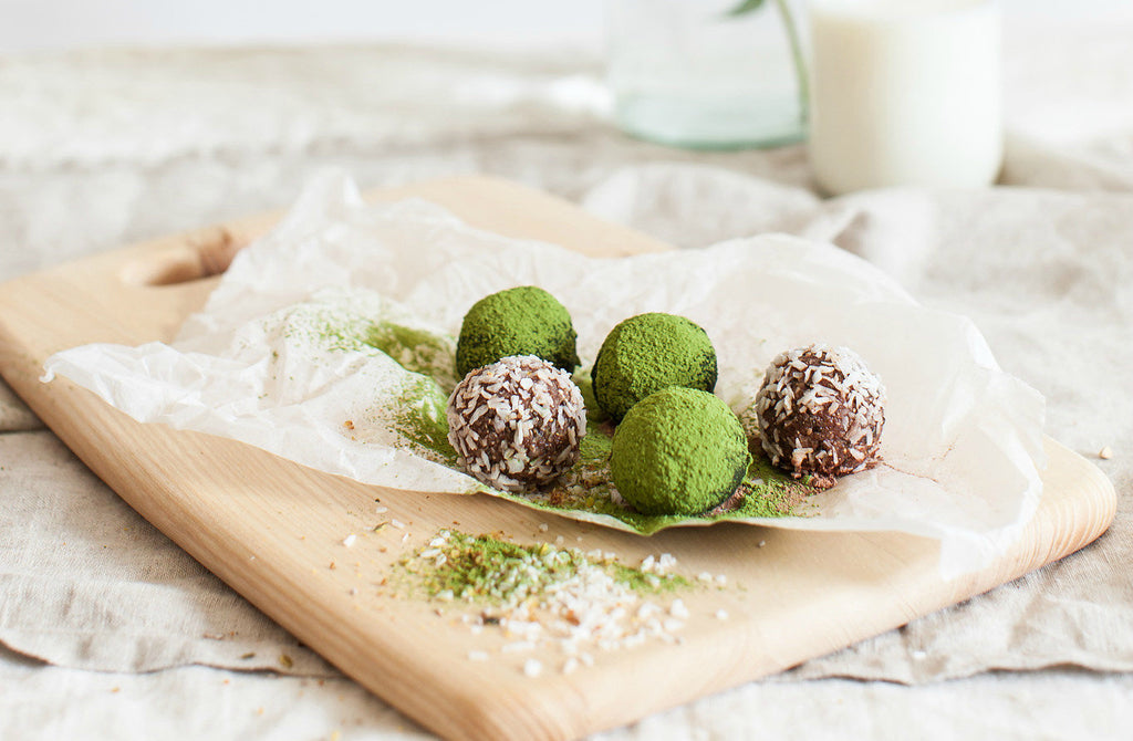 Recipe: matcha bliss balls