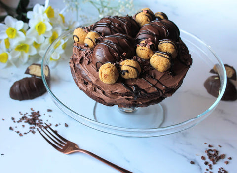 chococlate gluten free easter cake