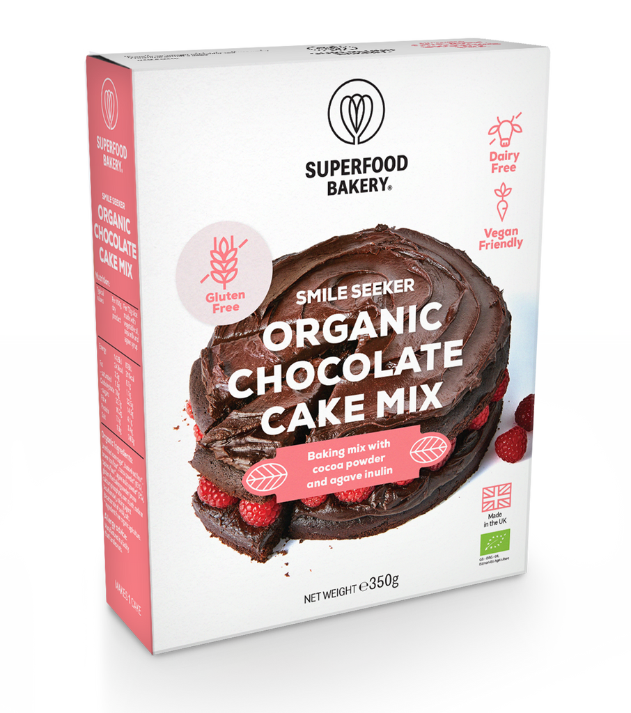 Organic Smile Seeker Chocolate Cake Mix