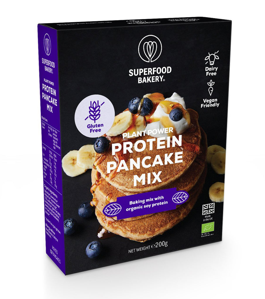 Plant Power Protein Pancake Mix