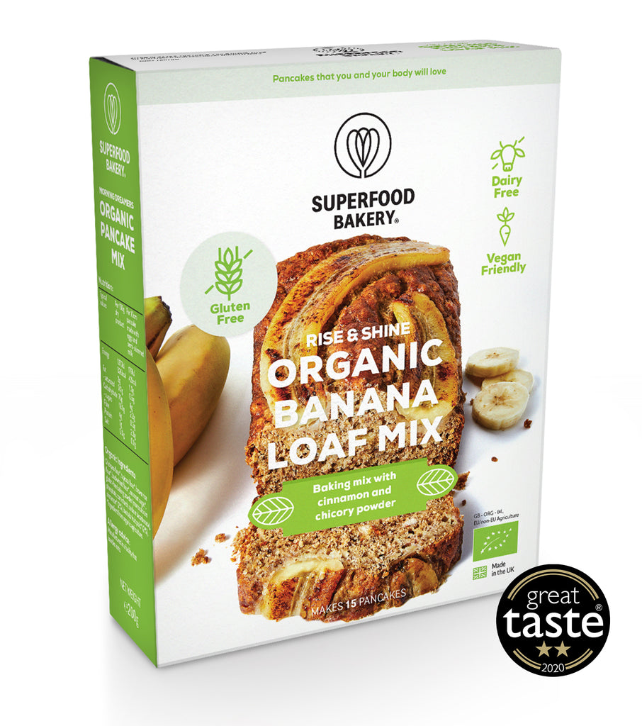 Organic Rise & Shine Banana Loaf Mix
