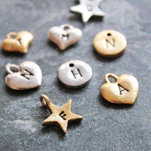 Jamie London hand stamped charms