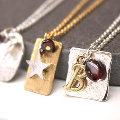 Garnet birthstone jewellery January birthday gift