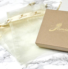 Jamie London Jewellery Gift Pouch and Gift Box