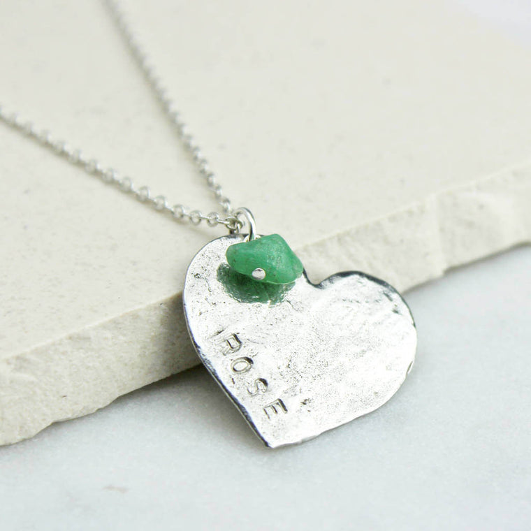 Personalised Heart Necklace