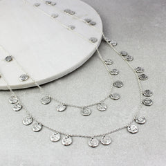 Chains of Silver, medium and long set