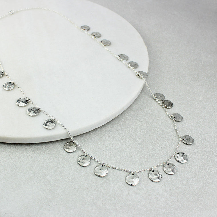 Chains of Silver Necklace