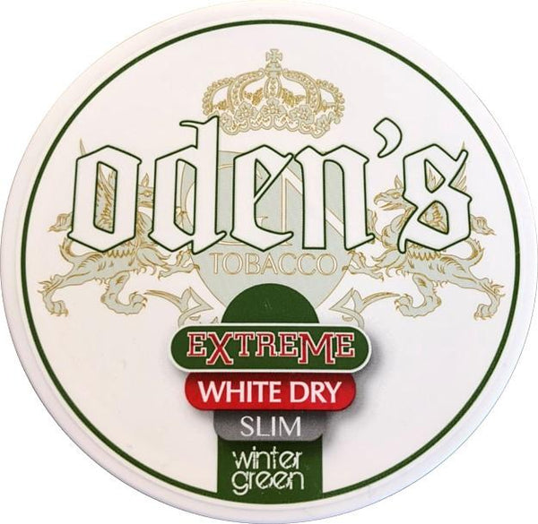 Wintergreen Extreme White Dry Slim