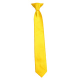 Boy's Solid Clip-On Tie (14