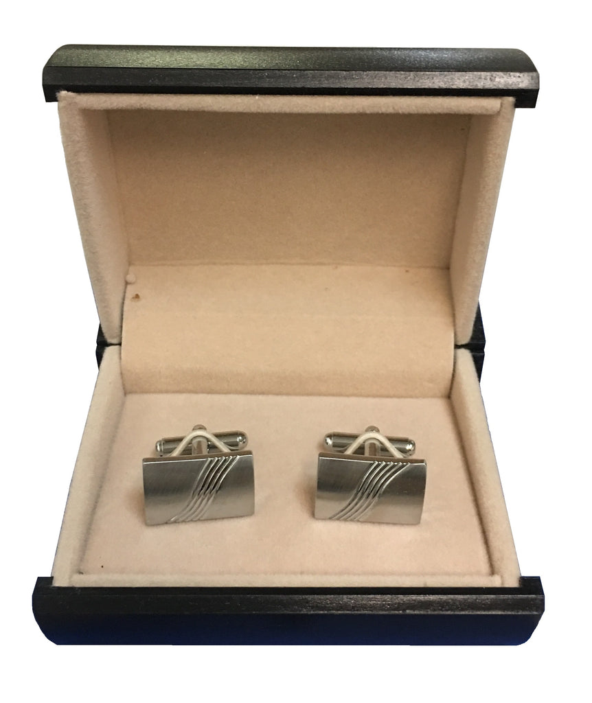 Stainless Steel Embossed Cufflinks C3-44
