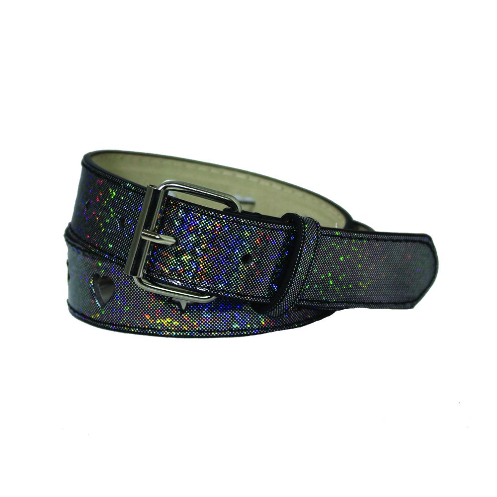 Girl's Metallic 2 Pack Belts - BK630 - DBABESTDEALS