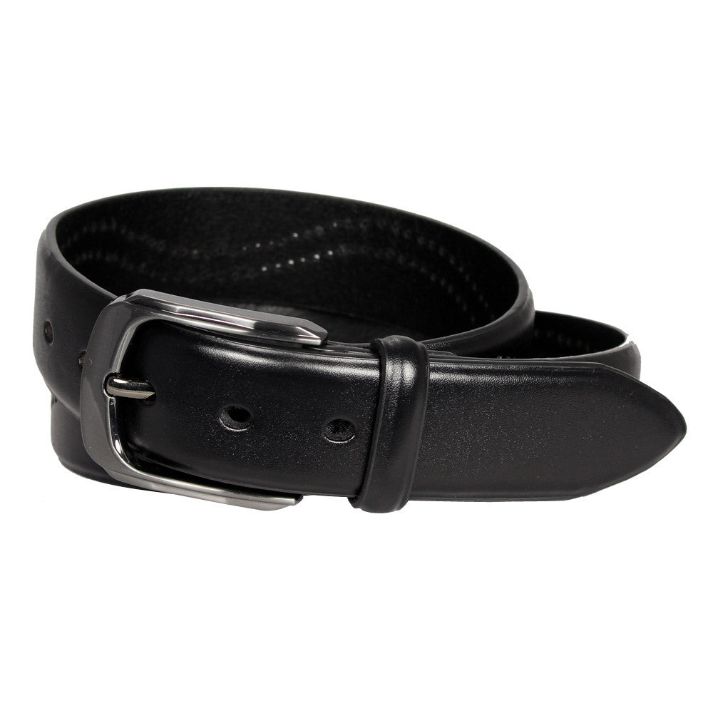 Men's Perforated Detail Leather Belt -  GL705 - DBABESTDEALS