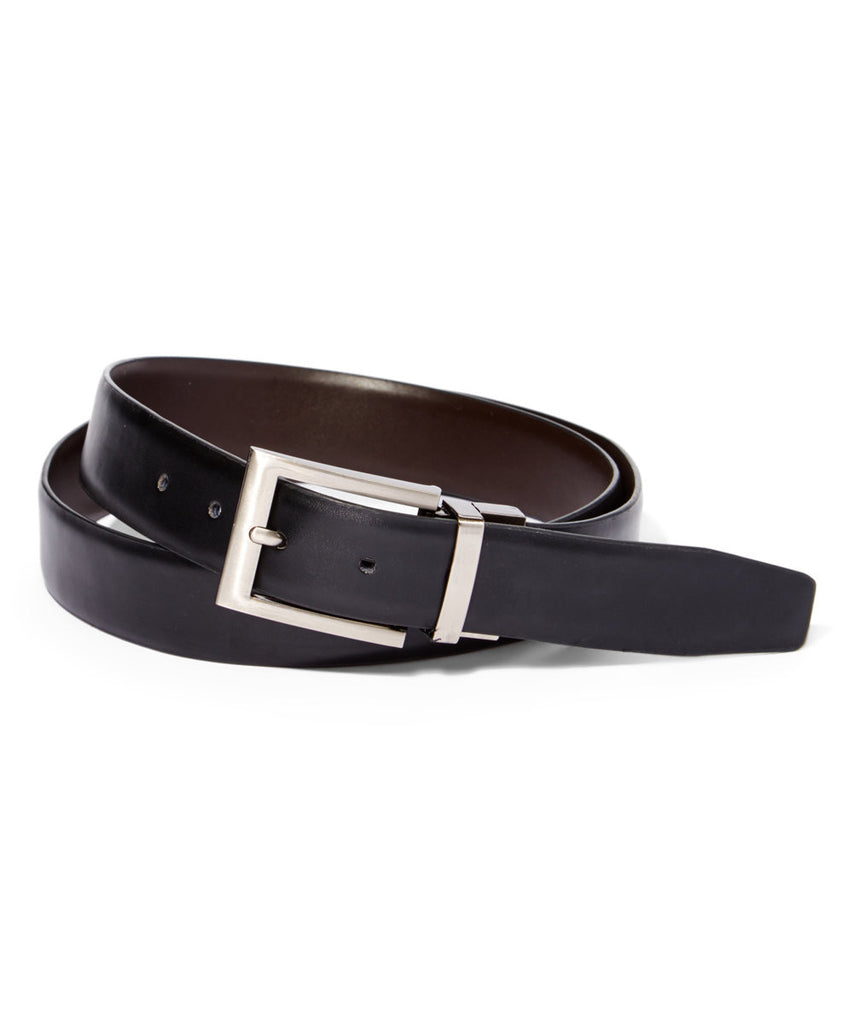 Men's Ivory Frame Reversible Leather Belt - PR204