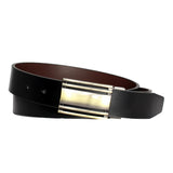 Men's Magnetic Steel Frame Leather Belt - UB822 - DBABESTDEALS