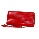 'Ruby Red' Raised Diamond Clutch - WA802 - DBABESTDEALS