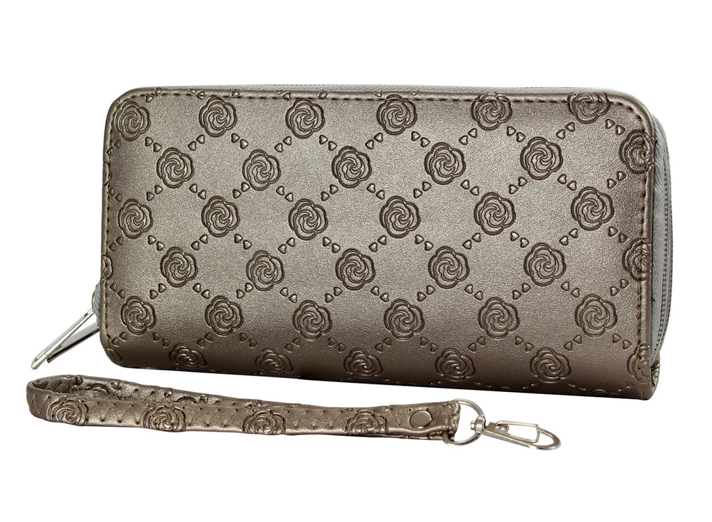 Chain Patterned Leather Clutches - WAR101 - DBABESTDEALS