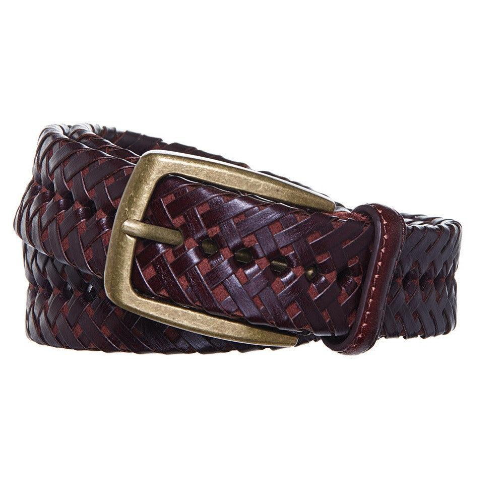 Men s Braided Leather Dress Belt - BR301 - DBABESTDEALS ... 19cad831e2bf