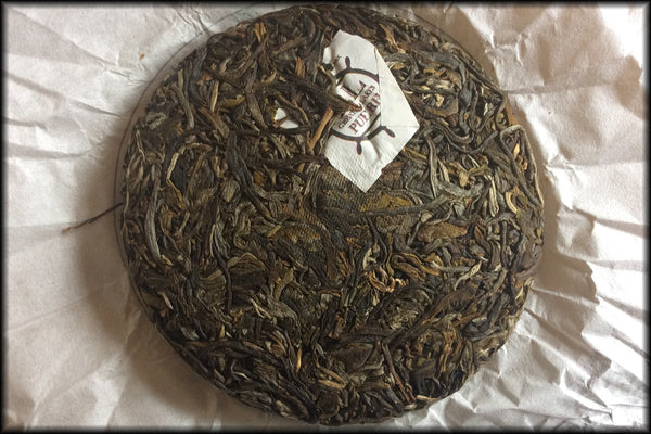 2016 Silver Fox, Old Tree Wild Arbor Raw Pu-erh Cake - 100g Cake