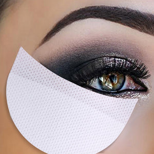 20pcs/50pcs/100pcs Eye Shadow Stickers Makeup Eye Shadow Stickers Grafted Transfer Tape Eyelash Isolation Stickers