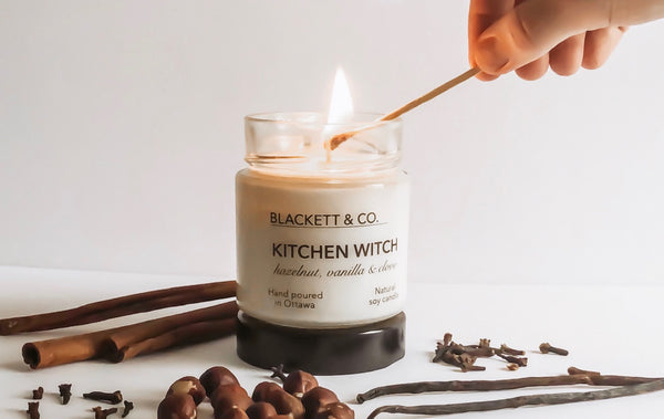 Blackett & Co. natural soy candles Canada