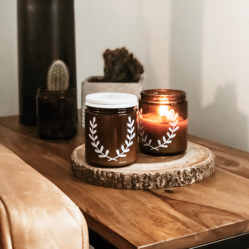 Bonfire Blackett & Co. natural soy candle Ottawa Ontario Canada
