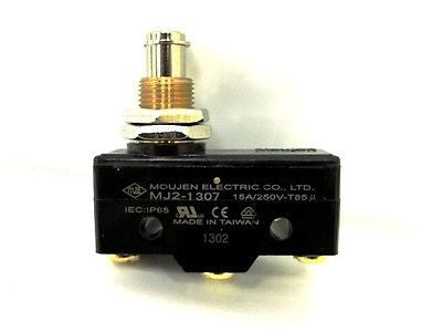 Moujen Electric MJ2-1307 Limit Switch, 15A/250V, crossref for BZ-2RQ1-A2 - Industrial Sensors & Controls