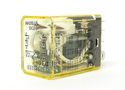 IDEC RH2B-ULDC24V, 50/60Hz Compact Power Relays (LOT OF 10) - Industrial Sensors & Controls